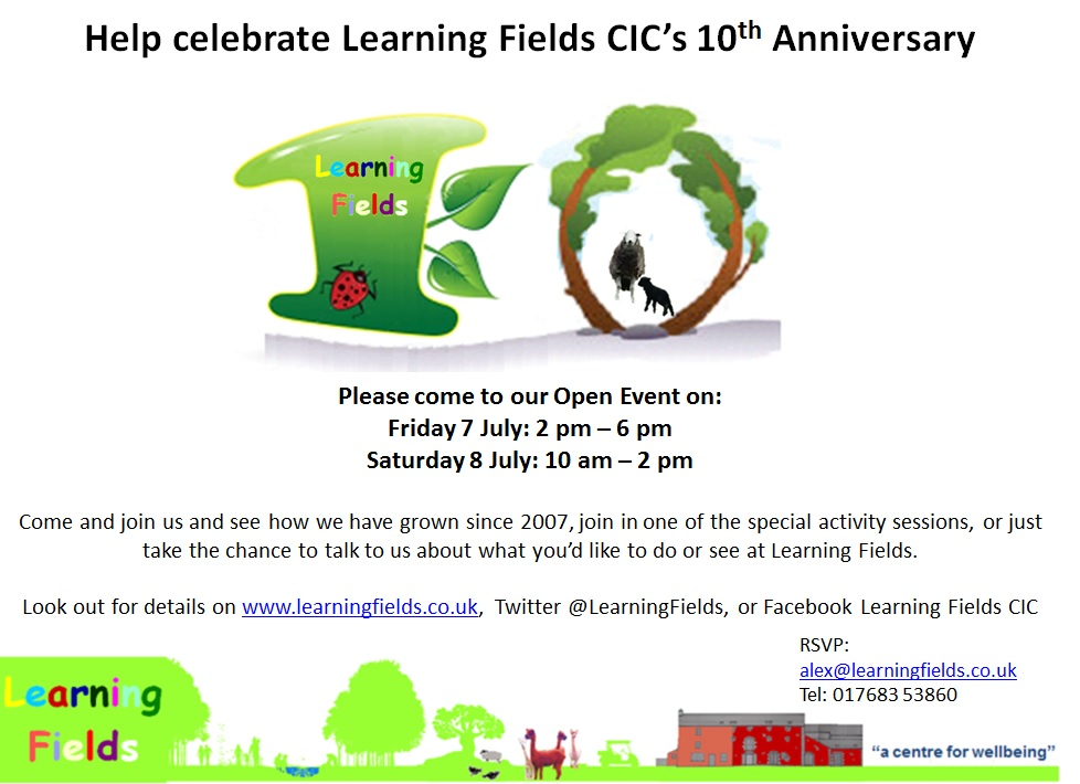10th Anniversary at Learning Fields