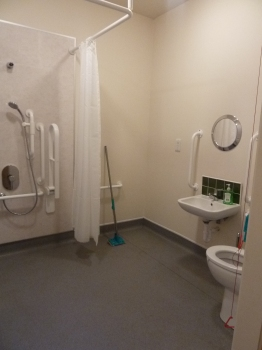 Disabled Toilet and Shower