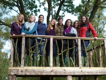Students In The Tree House