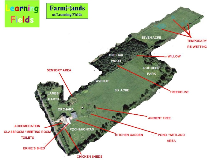 learning fields farm map